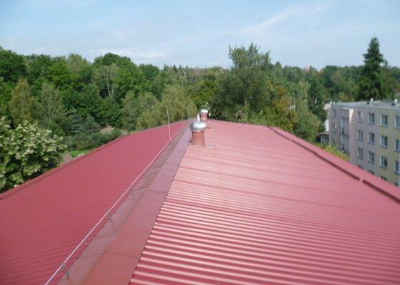 Lokální oprava střechy