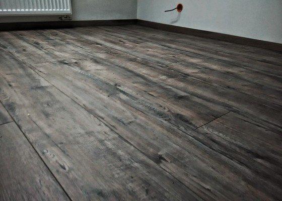 Kompletní rekonstrukce podkroví, podlaha Puretec DD 350 S