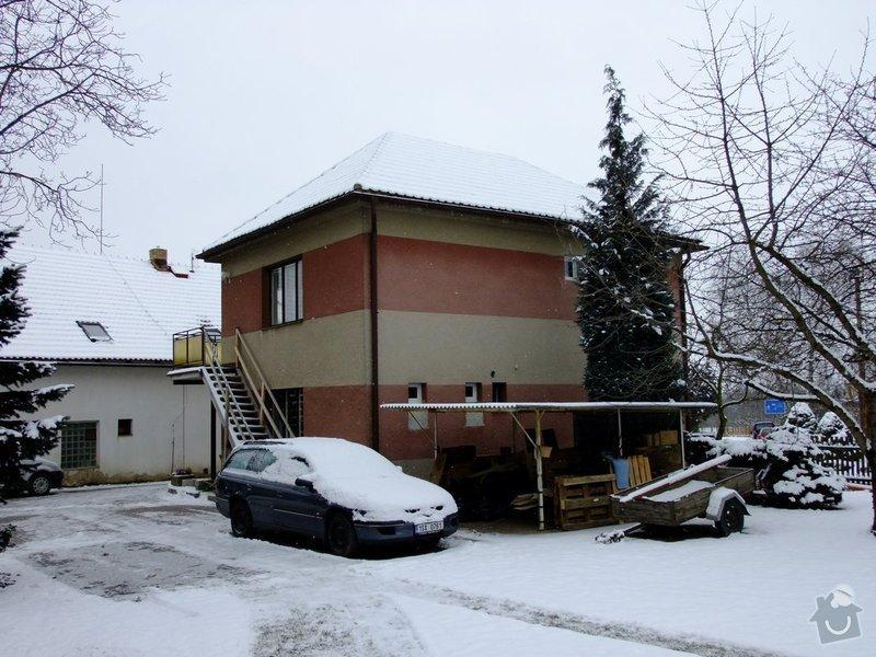 Zateplenou fasásu na starší jednopatrový dům. Zelená úsporám: DSCF3572