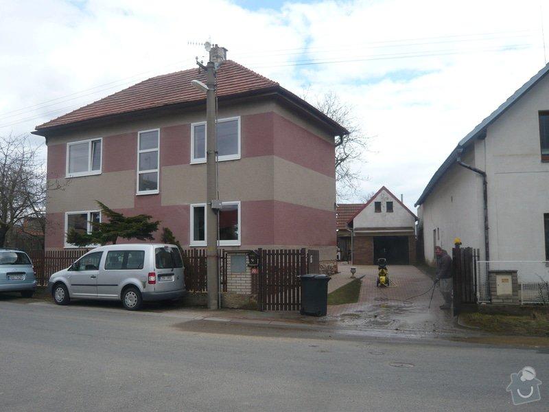 Zateplenou fasásu na starší jednopatrový dům. Zelená úsporám: P1090174