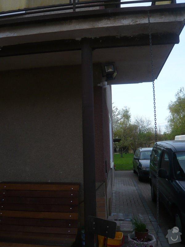 Zateplenou fasásu na starší jednopatrový dům. Zelená úsporám: P1090185