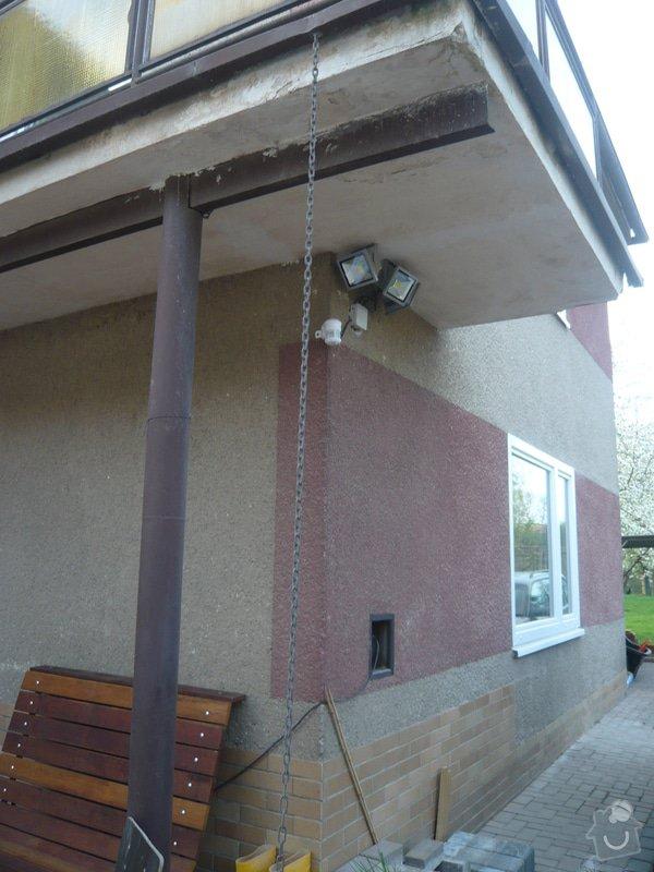 Zateplenou fasásu na starší jednopatrový dům. Zelená úsporám: P1090186