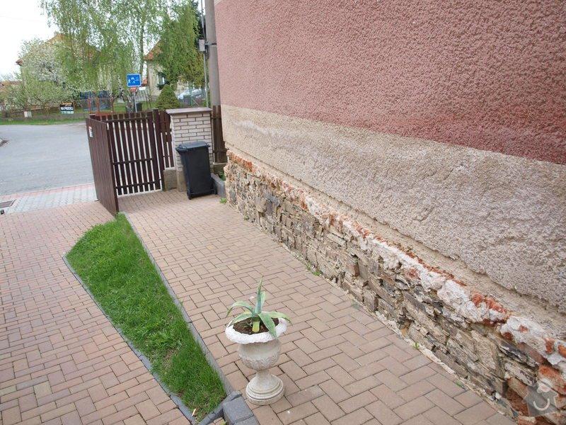 Zateplenou fasásu na starší jednopatrový dům. Zelená úsporám: P4283980