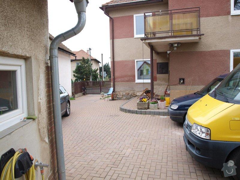 Zateplenou fasásu na starší jednopatrový dům. Zelená úsporám: P4283992