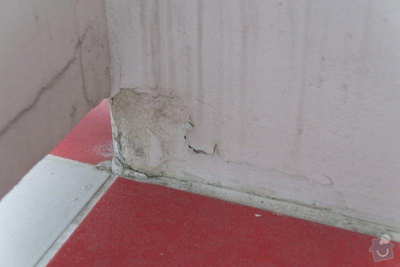 Oprava opadaného štuku a prasklin na balkoně 5m2: DSC_0174