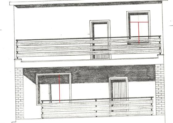 Výměna oken v baťovském půldomku