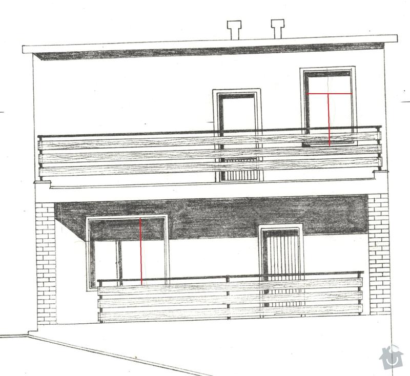 Výměna oken v baťovském půldomku: novy_stav2