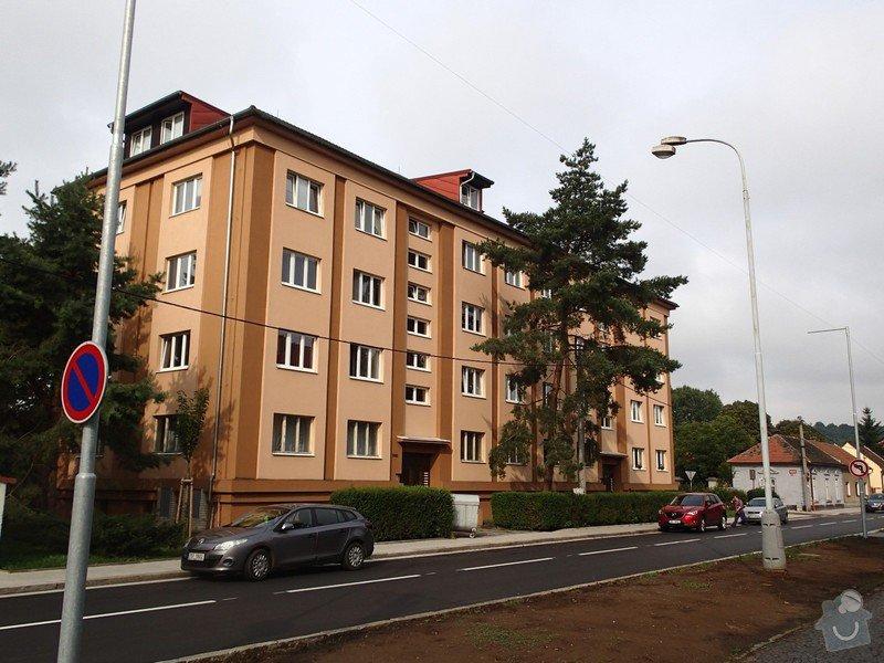 Rekonstrukce osvětlení a elektroinstalace společných prostor bytového domu: P8040005