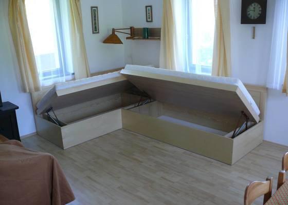 Výroba postelí s úložným prostorem