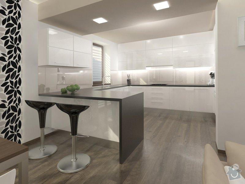 Rodinný domek s výhledem na Ještěd: 01_RD_Liberec_-_kuchyn