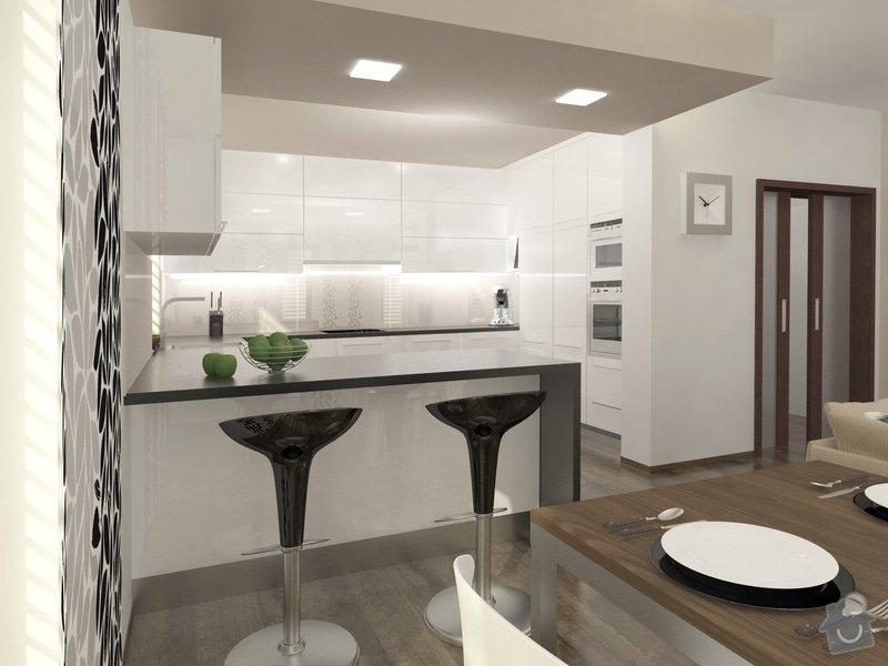 Rodinný domek s výhledem na Ještěd: 02_RD_Liberec_-_kuchyn