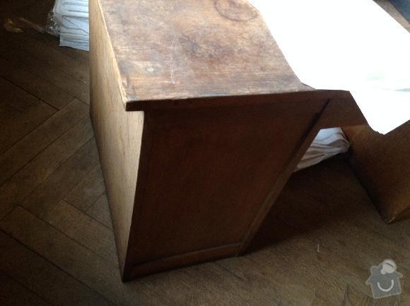 Renovace amerického psacího stolu: stul2