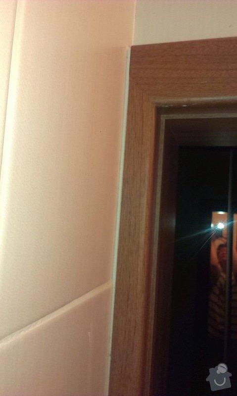 Dodávka a montáž vnitřních dveří  a obkladu ocelových zárubní-Praha 4 : IMAG1650