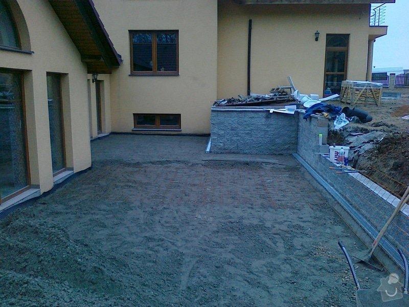 Pokládka přírodního kamene na terase: 06112014967