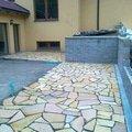 Pokladka prirodniho kamene na terase 13112014982