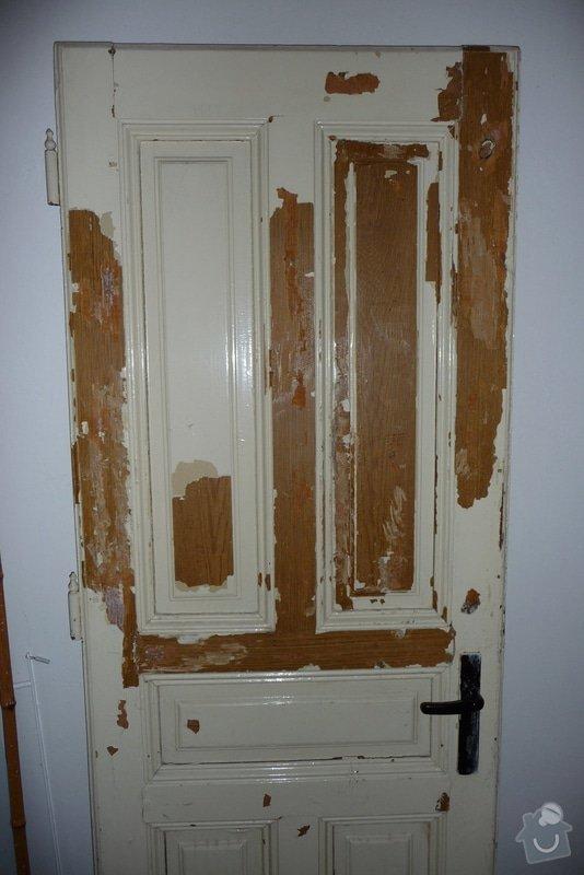 Oprava a dovýroba interiérových dveří a zárubní: P1080156