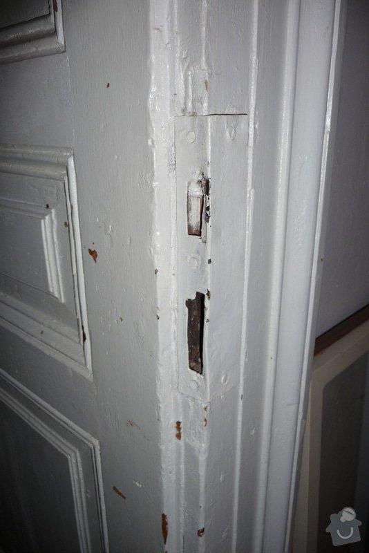 Oprava a dovýroba interiérových dveří a zárubní: P1080157