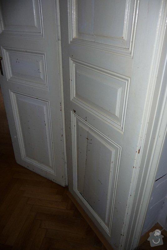 Oprava a dovýroba interiérových dveří a zárubní: P1080158