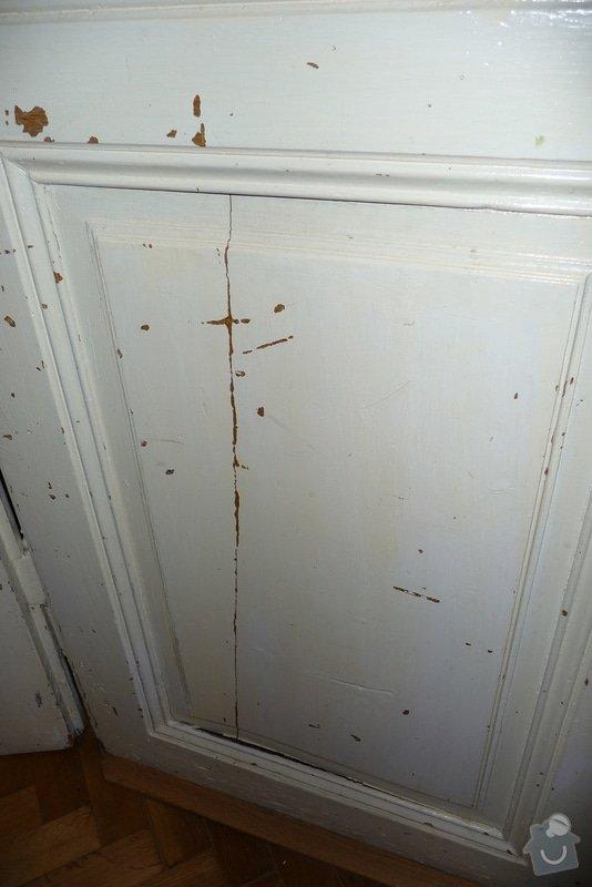 Oprava a dovýroba interiérových dveří a zárubní: P1080159