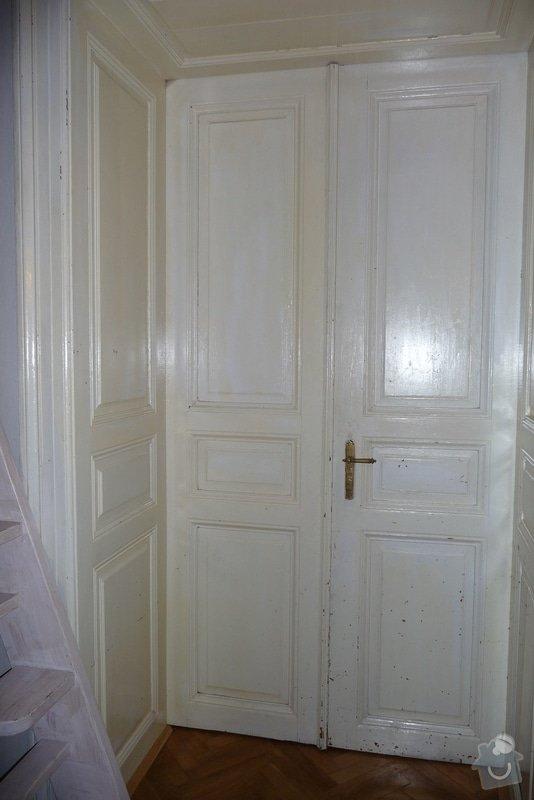 Oprava a dovýroba interiérových dveří a zárubní: P1080168