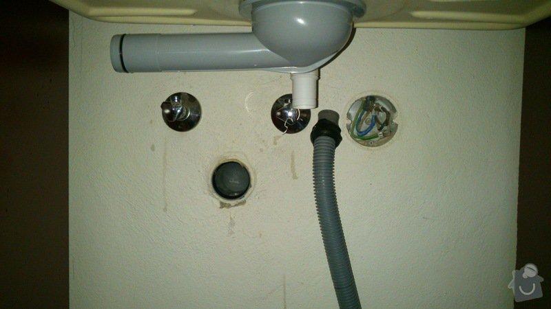 Připojení vody, plynu: DSC_0420