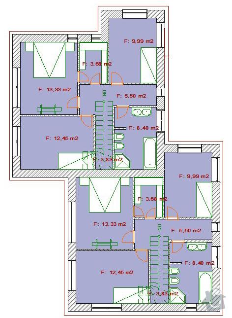 Vystavba rodinneho domu: Velen13-2NP