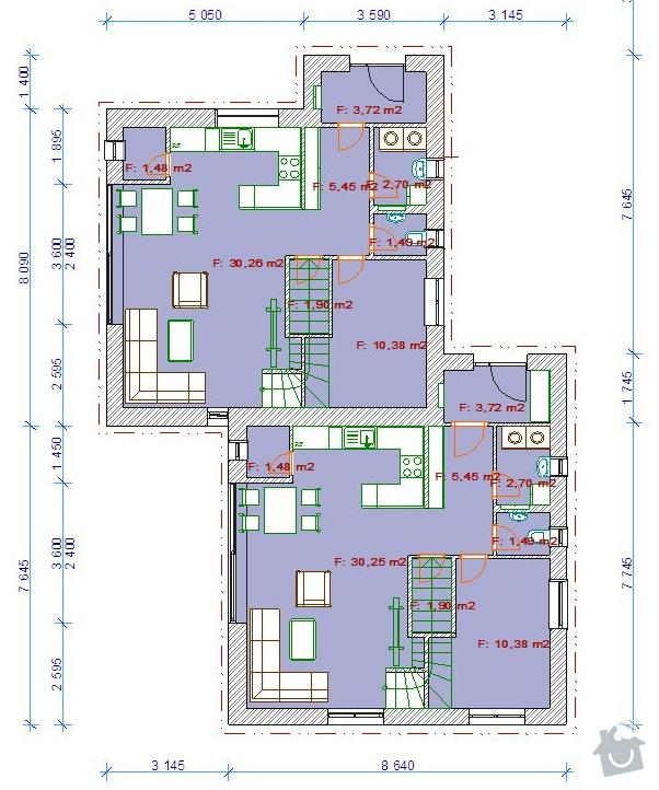 Vystavba rodinneho domu: Velen13-1NP