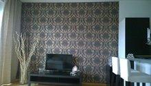 Vytapetování stěny 2,65 x 3,95 m
