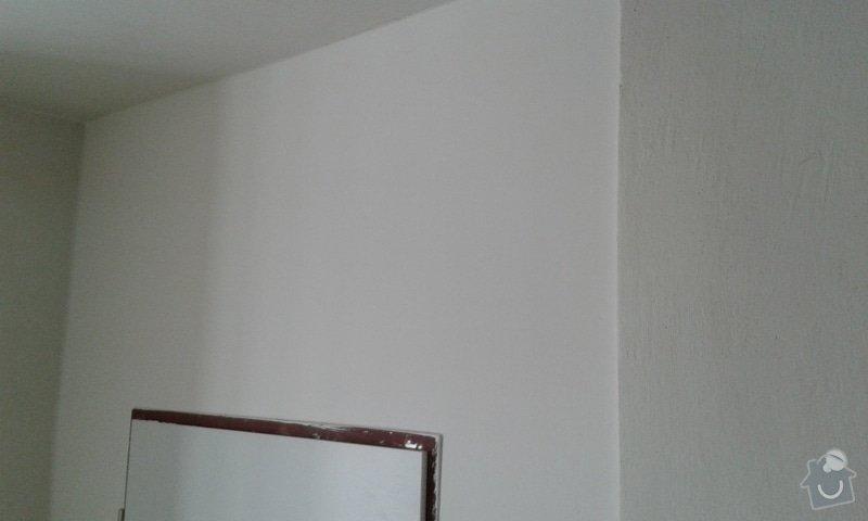 Výstavba kumbálu ve výklenku - sádrokarton, policový regál: 20150129_121207