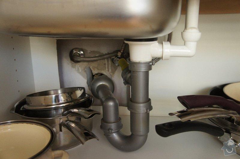 Obklad za kuchyňskou linku + osvětlení + vestavba myčky: DSC08051