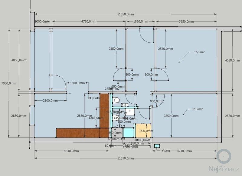 Kompletní rekonstrukce panelového bytu 3+1: 3_1_Jadro_-_E_-_6c
