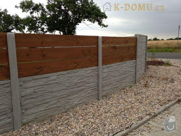 Stavba plotu o délce 115 metrů: Betonove_ploty
