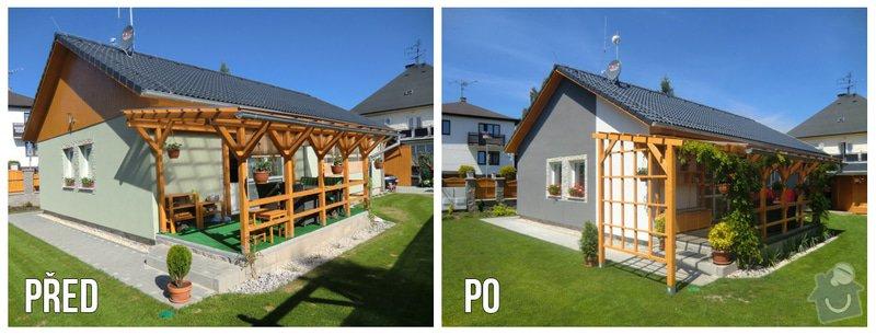 Úpravy rodinného domu - interiér i exteriér: 02_Karasova_-_fasada