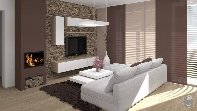 Úpravy rodinného domu - interiér i exteriér: 03_Karasova_-_obyvaci_pokoj