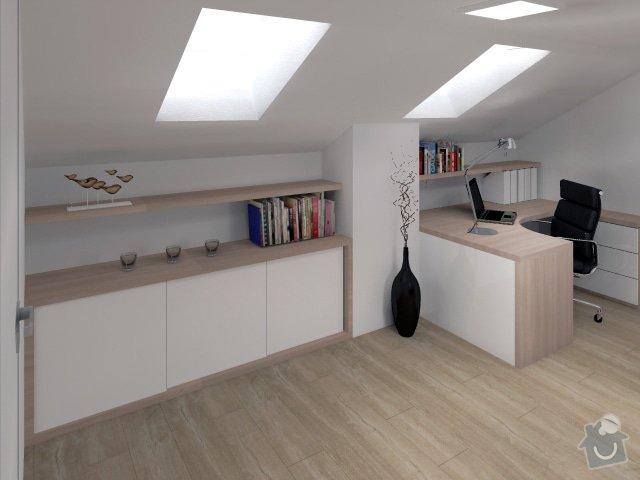 Úpravy rodinného domu - interiér i exteriér: 10_Karasova_-_pracovna