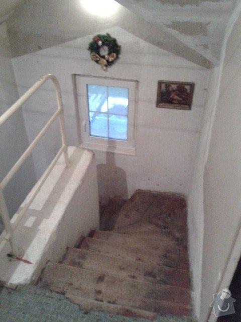 Rekonstrukce schodiště a balkonu: 20150130_160611