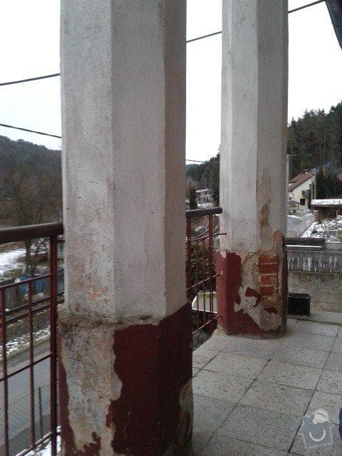 Rekonstrukce schodiště a balkonu: 20150130_160935