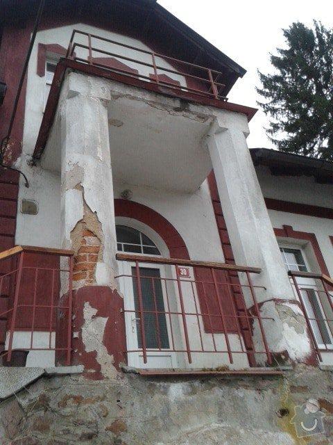 Rekonstrukce schodiště a balkonu: 20150130_161123