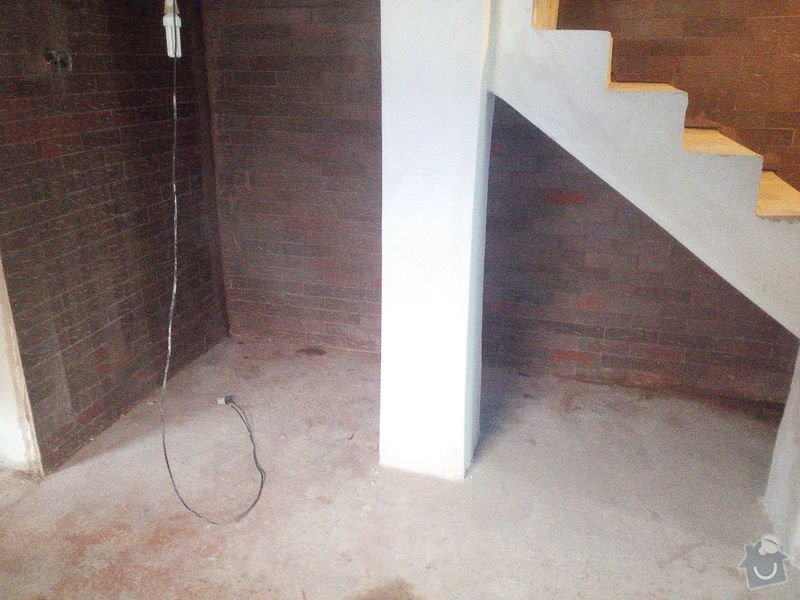 Pokladka koberce na schody do sklepa a ve sklepe: IMG_20150203_103805
