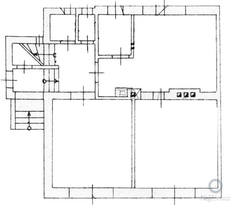 Rekonstrukce bytu: prizemi-slepa