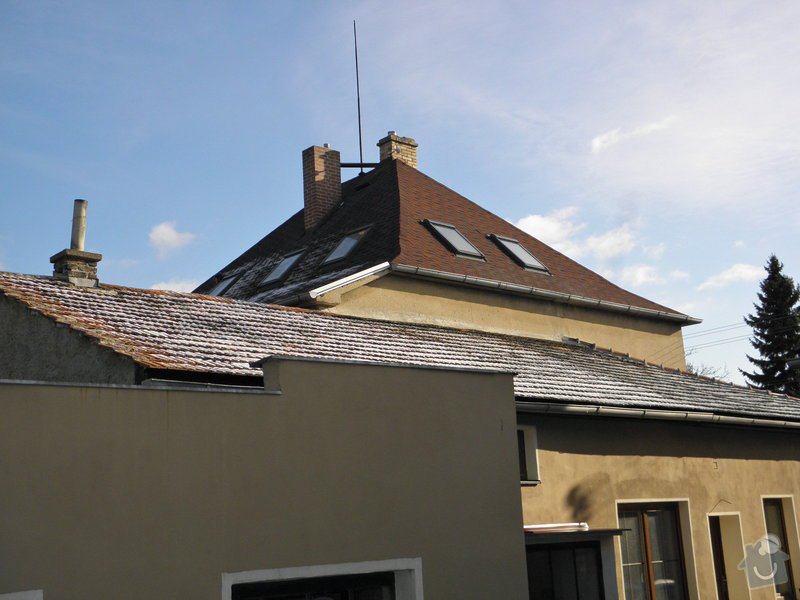 Rekonstrukce 2x střech RD + dílna: P2030247_1_