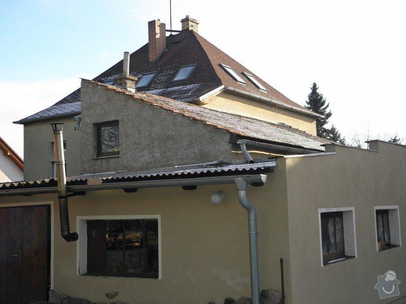 Rekonstrukce 2x střech RD + dílna: P2030249_1_