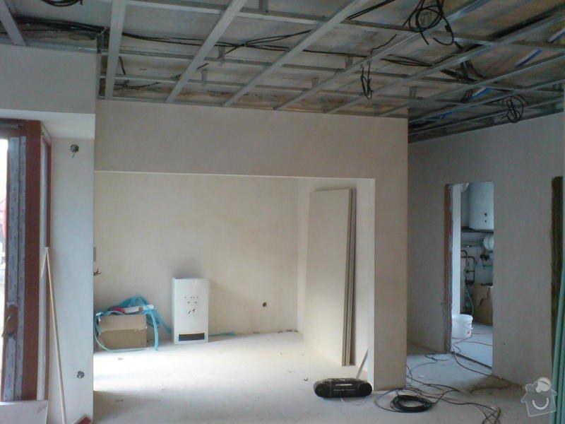 Stropní podhledy rodinného domu: DSC00135