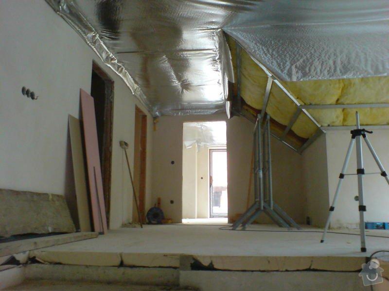 Stropní podhledy rodinného domu: DSC00137