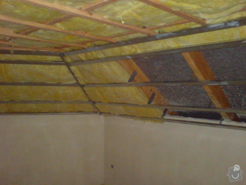 Stropní podhledy rodinného domu: DSC00140