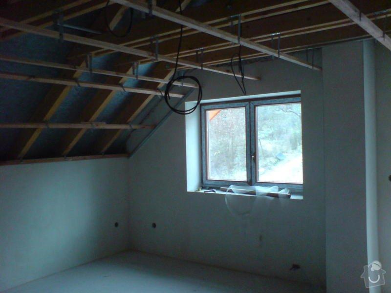 Stropní podhledy rodinného domu: DSC00131