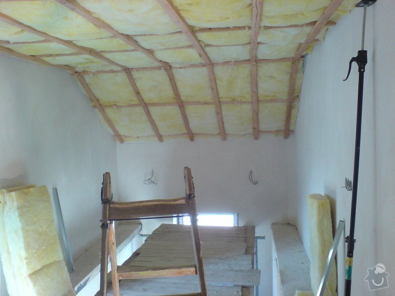 Stropní podhledy rodinného domu: DSC00133