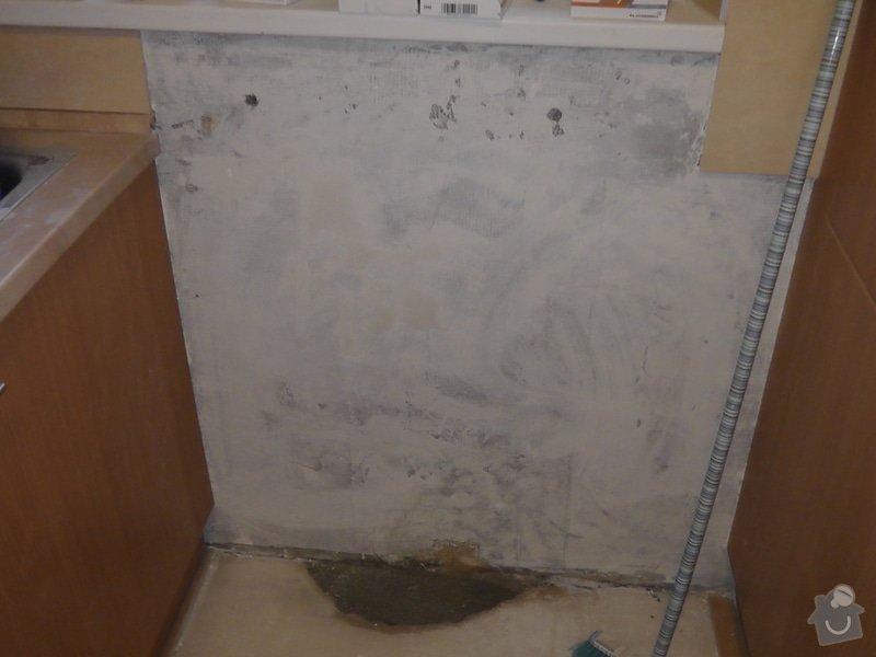 Kompletní rekonstrukce RD: kuchyna_-_odstraeny_radiator_a_zapucovana_diera_po_nom_odstranene_presakovanie_kurenia
