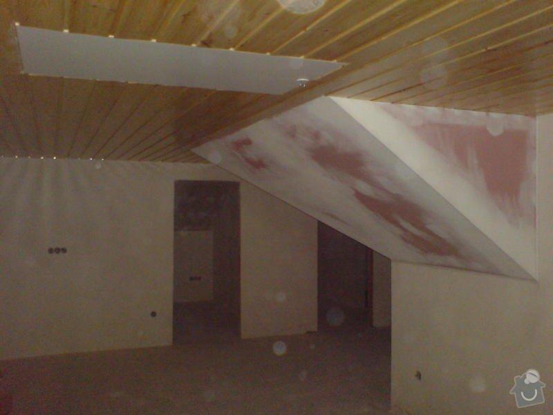 Stropní podhledy rodinného domu: DSC00024