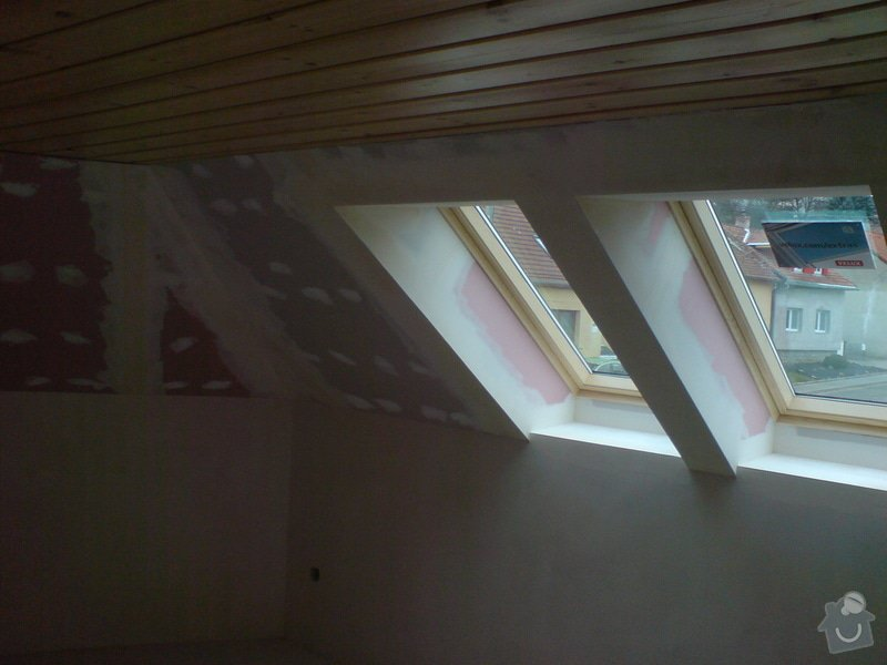 Stropní podhledy rodinného domu: DSC00016
